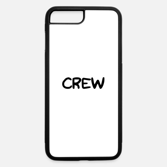 Gift Idea iPhone Cases - Lettering CREW - iPhone 7 & 8 Plus Case white/black