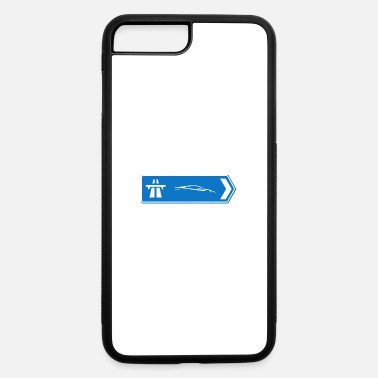 Sportscar Sportscars Roadsign - iPhone 7 & 8 Plus Case