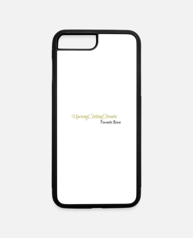 Lets Rise iPhone Cases - Uprising Case - iPhone 7 & 8 Plus Case white/black