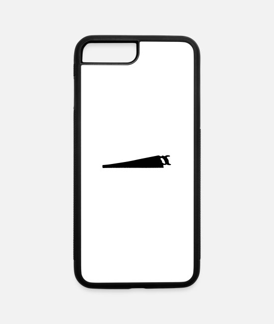 Disston iPhone Cases - D8 Hand Saw - iPhone 7 & 8 Plus Case white/black
