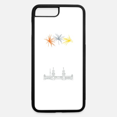 Friedrichshain Oberbaum Bridge in Berlin - iPhone 7 & 8 Plus Case