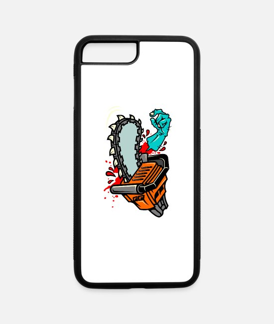 Graphic Art iPhone Cases - Saw - iPhone 7 & 8 Plus Case white/black