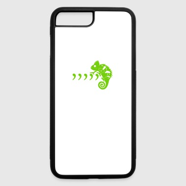 Comma Comma Comma Chameleon funny tshirt - iPhone 7 Plus/8 Plus Rubber Case