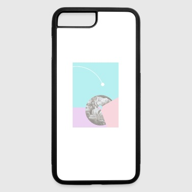Retro Graphic Art - iPhone 7 Plus/8 Plus Rubber Case