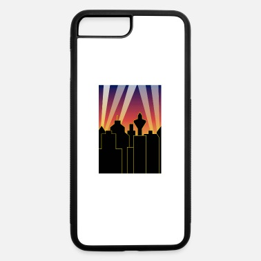 Headlight city sky and lights - iPhone 7 Plus/8 Plus Rubber Case