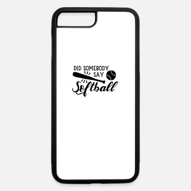 Softball Softball - iPhone 7 Plus/8 Plus Rubber Case