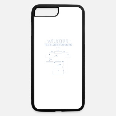 Aviation Troubleshooting Guide Gift - iPhone 7 Plus/8 Plus Rubber Case