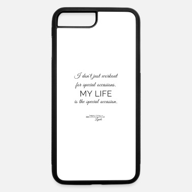 Occasion My Life Occasion - iPhone 7 Plus/8 Plus Rubber Case