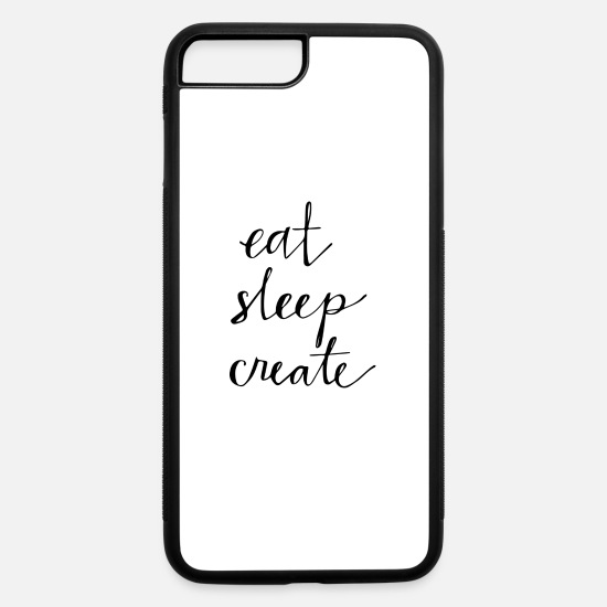 Movie iPhone Cases - Eat Sleep - iPhone 7 & 8 Plus Case white/black