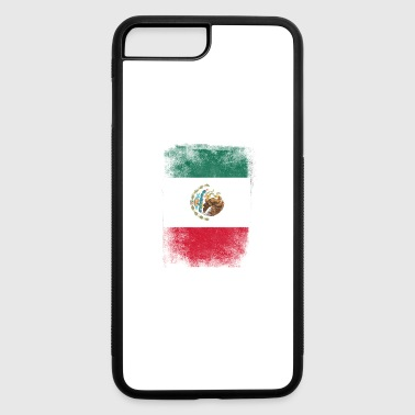 Mexico Flag Proud Mexican Vintage Distressed - iPhone 7 Plus/8 Plus Rubber Case