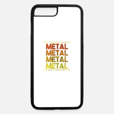 Metal Music Metal Music Shirt - Gift - iPhone 7 Plus/8 Plus Rubber Case
