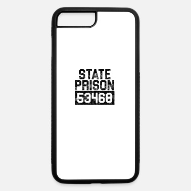 Prison State Prison Prisoner Funny Prison - iPhone 7 Plus/8 Plus Rubber Case