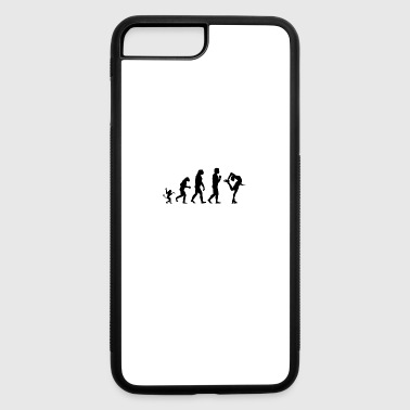 ice skating evolution, #ice skating - iPhone 7 Plus/8 Plus Rubber Case