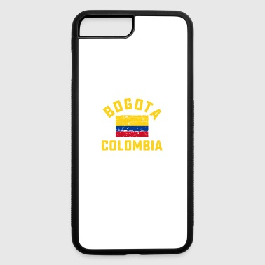 Bogota bogota city in Colombian Flag - iPhone 7 Plus/8 Plus Rubber Case