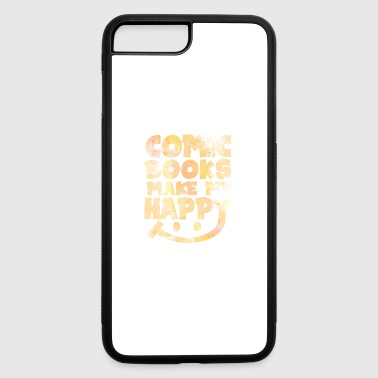 Comic Books Make Me Happy - Comics - Total Basics - iPhone 7 Plus/8 Plus Rubber Case