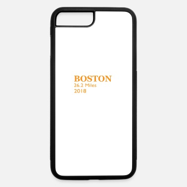 Boston Marathon Boston Running 2018 26 Miles Marathon running - iPhone 7 Plus/8 Plus Rubber Case