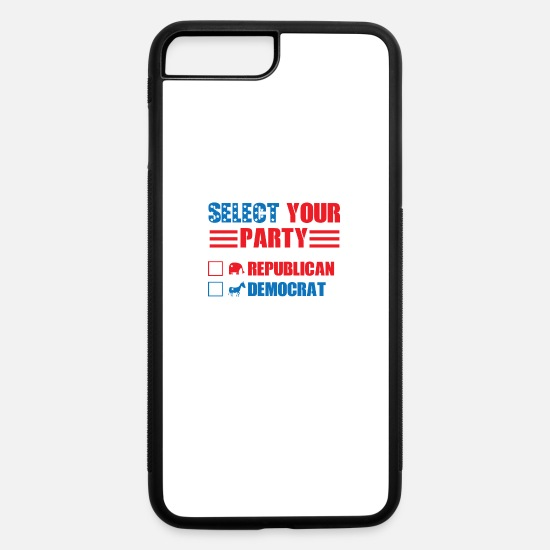 Birthday iPhone Cases - Toga Party Funny Political Election Voting Humor - iPhone 7 & 8 Plus Case white/black