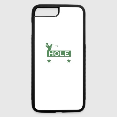 Golf Lover Made Double Bogey Tossed Putter - iPhone 7 Plus/8 Plus Rubber Case
