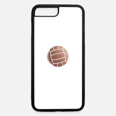 Volleyball Setter Rose Gold Volleyball Setter - iPhone 7 Plus/8 Plus Rubber Case