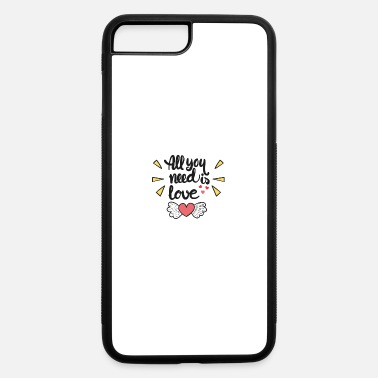 Corazon All you need is love Corazon - iPhone 7 Plus/8 Plus Rubber Case