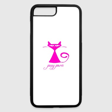 Pussy pussy power - iPhone 7 Plus/8 Plus Rubber Case