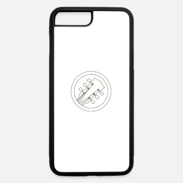 electric guitar white - iPhone 7 Plus/8 Plus Rubber Case