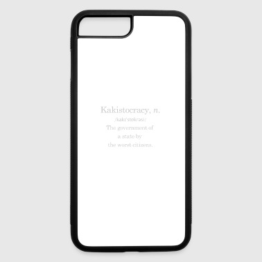 Government Government by the worst - iPhone 7 Plus/8 Plus Rubber Case
