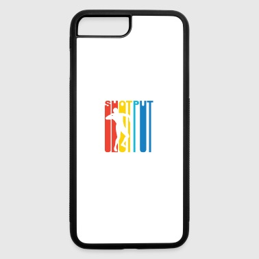 Vintage Shot Put Graphic - iPhone 7 Plus/8 Plus Rubber Case