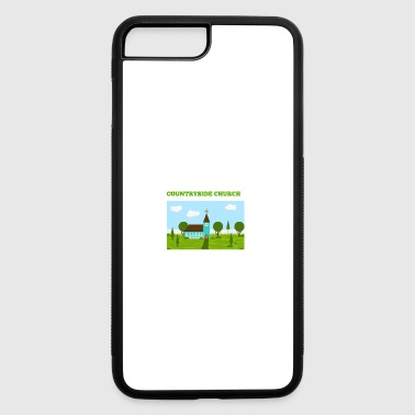 Countryside Church - iPhone 7 Plus/8 Plus Rubber Case