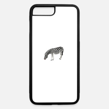 Zebra Zebra - iPhone 7 Plus/8 Plus Rubber Case