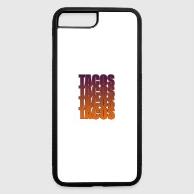tacos tacos tacos tacos - iPhone 7 Plus/8 Plus Rubber Case