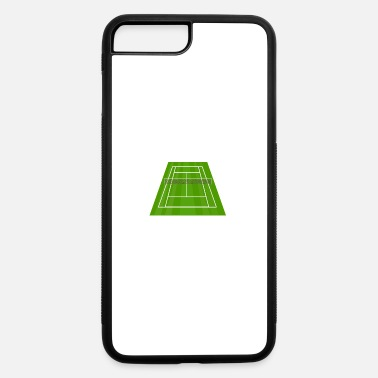 Court Tennis Court/ Tennis Net/ Court Sport - iPhone 7 Plus/8 Plus Rubber Case