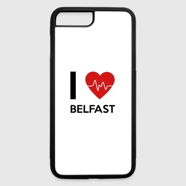 I Love Belfast - iPhone 7 Plus/8 Plus Rubber Case