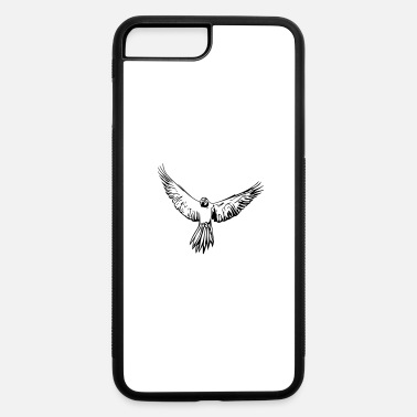 Elegant parrot in flight - iPhone 7 & 8 Plus Case