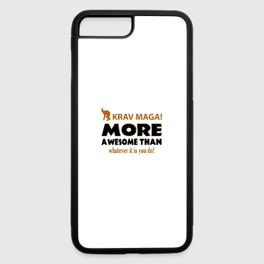 KRAV MAGA DESIGNS - iPhone 7 Plus/8 Plus Rubber Case