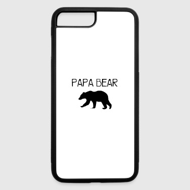 Papa Bear - Black - iPhone 7 Plus/8 Plus Rubber Case