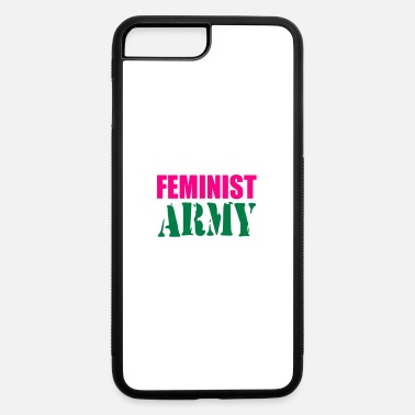 feminist army - iPhone 7 & 8 Plus Case