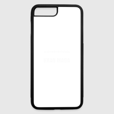 krav maga design - iPhone 7 Plus/8 Plus Rubber Case