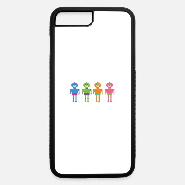 Robot robots - iPhone 7 & 8 Plus Case
