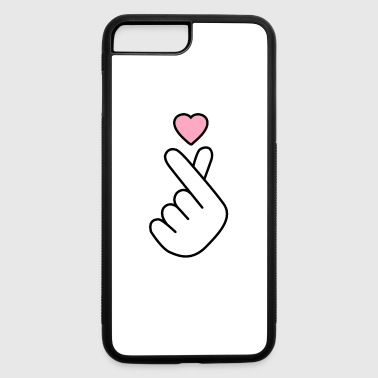 Korean Korean Heart - iPhone 7 Plus/8 Plus Rubber Case