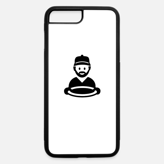 Truck Driver iPhone Cases - truck driver - iPhone 7 & 8 Plus Case white/black
