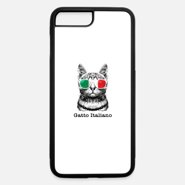 Gatto Italiano Italian Gatto Italiano Italian Cat Wearing Sunglasse shirt - iPhone 7 & 8 Plus Case