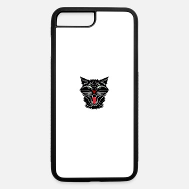 Trick Or Treat Vintage Halloween Scary Black Cat Horror Gift - iPhone 7 & 8 Plus Case