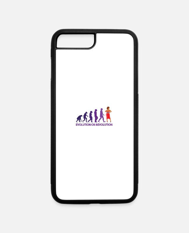 Festival iPhone Cases - Drag queen evolution or revolution - iPhone 7 & 8 Plus Case white/black