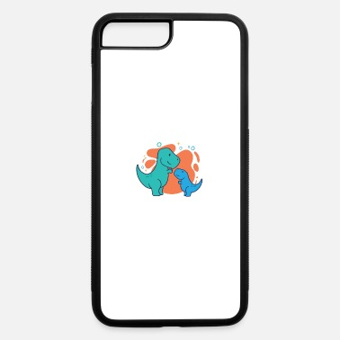 Trex For Girls Adult and child TRex lovely Dinosaur family gifts - iPhone 7 & 8 Plus Case