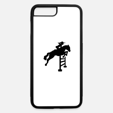 Show Jumping Horses Riding Show Jumping Rider Equitation - iPhone 7 Plus/8 Plus Rubber Case