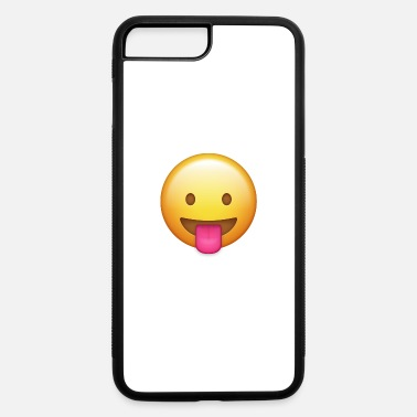 Stick Out Little face sticking out her tongue - iPhone 7 & 8 Plus Case