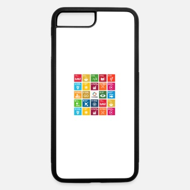 Global global goals - iPhone 7 Plus/8 Plus Rubber Case