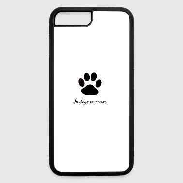 Dog Paw dogs paw - iPhone 7 Plus/8 Plus Rubber Case