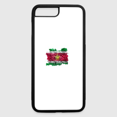 Suriname Vintage Flag - iPhone 7 Plus/8 Plus Rubber Case
